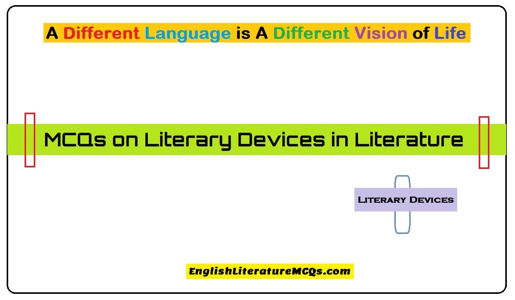 MCQs on Literary Devices in Literature